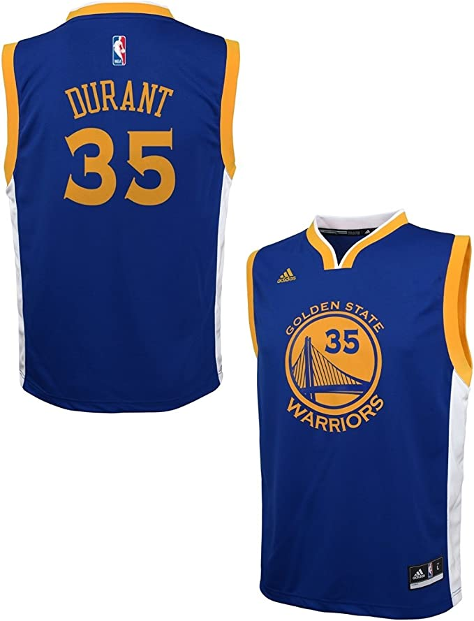 Royal Youth Large 14-16 NBA Youth Boys Kevin Durant Short Sleeve Player Mesh Fashion Top
