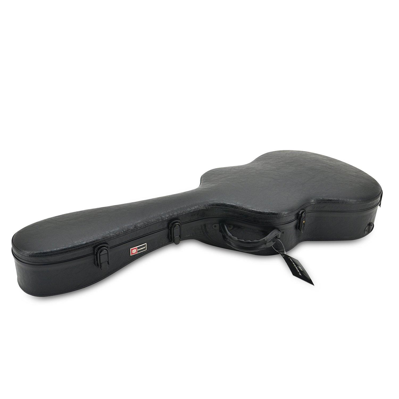 Amazon.com: CrossRock CRF1000C Hardshell funda para guitarra ...