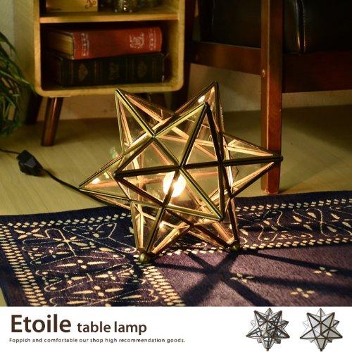 クリア/フロアライト 星型 フロア照明 スタンドライト スタンド照明 フロアランプ アンティーク 照明 Etoile table lamp エトワール かわいい シック LT3675 B0068ZW6T4 クリア