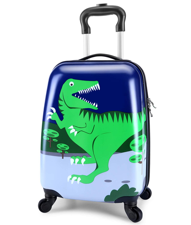 c8506f63246e Lttxin kids' suitcase 16 inch Polycarbonate Carry On Luggage, Lovely,Hard  Shell ,Boys,Children travel (Dinosaur)