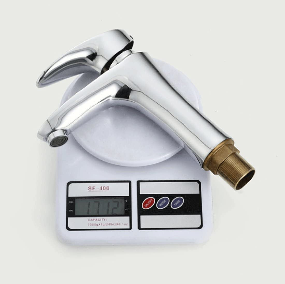 MDRW-Single acting basin faucet electroplating hot and cold lifting faucet