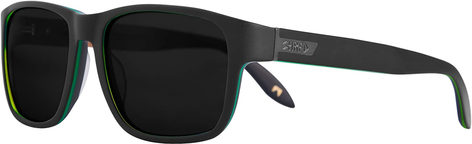 Shred Sonnenbrille STOMP DON, Black/Green, DSGSTPE22