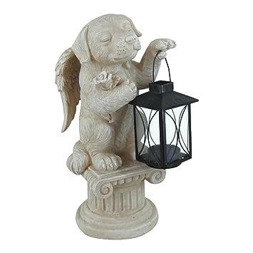 """Comfy hora 12 """"Memorial ángel perro Teniendo una mascota farol, Estado, hecho"""