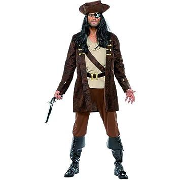 Traje del pirata Jack disfraz bucanero cine vestuario ...