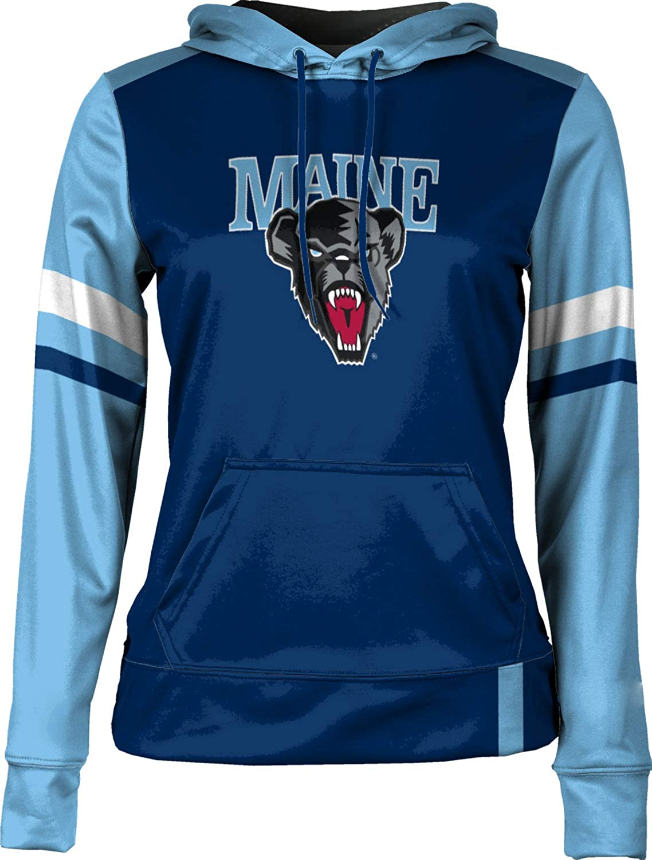 Old School School Spirit Sweatshirt ProSphere University of Maine Girls Pullover Hoodie