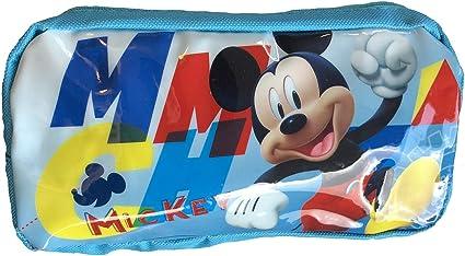 Estuche mickey mouse disney 19 x 12.5 x 6 cm: Amazon.es: Oficina y papelería