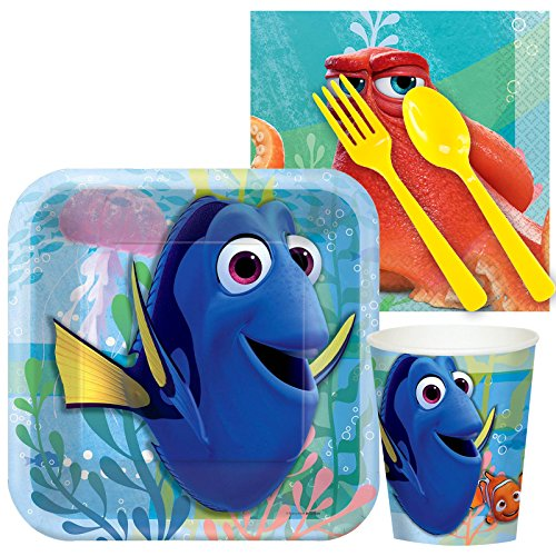 BirthdayExpress Finding Dory Party Supplies - Snack Party Pack]()