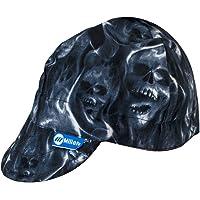 "Miller Genuine Arc Armor Ghost Skulls Welding Cap 7-1/4"" - 230543"