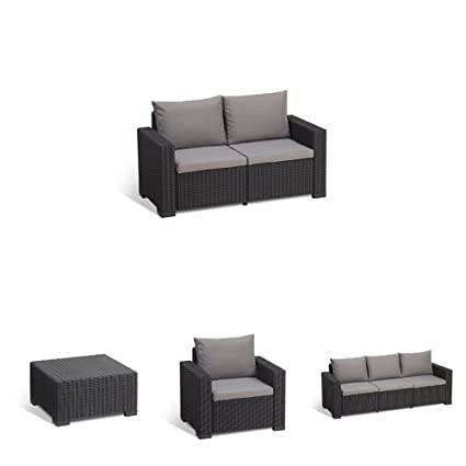 Amazon.com : Keter California All Weather Outdoor 2-Seater ...
