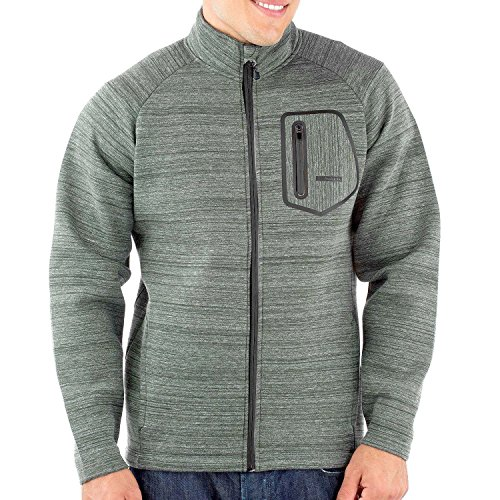 - Avalanche Mens Active Lightweight Volcan Jacket with Chest Pocket (Medium, Grey)
