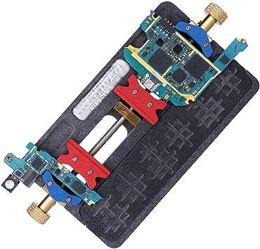 BouBou Universal Fixture Mother Board PCB Holder Jig Estación de Trabajo para iPhone Samsung Herramientas de reparación de Placa de Circuito Teléfonos móviles Outils