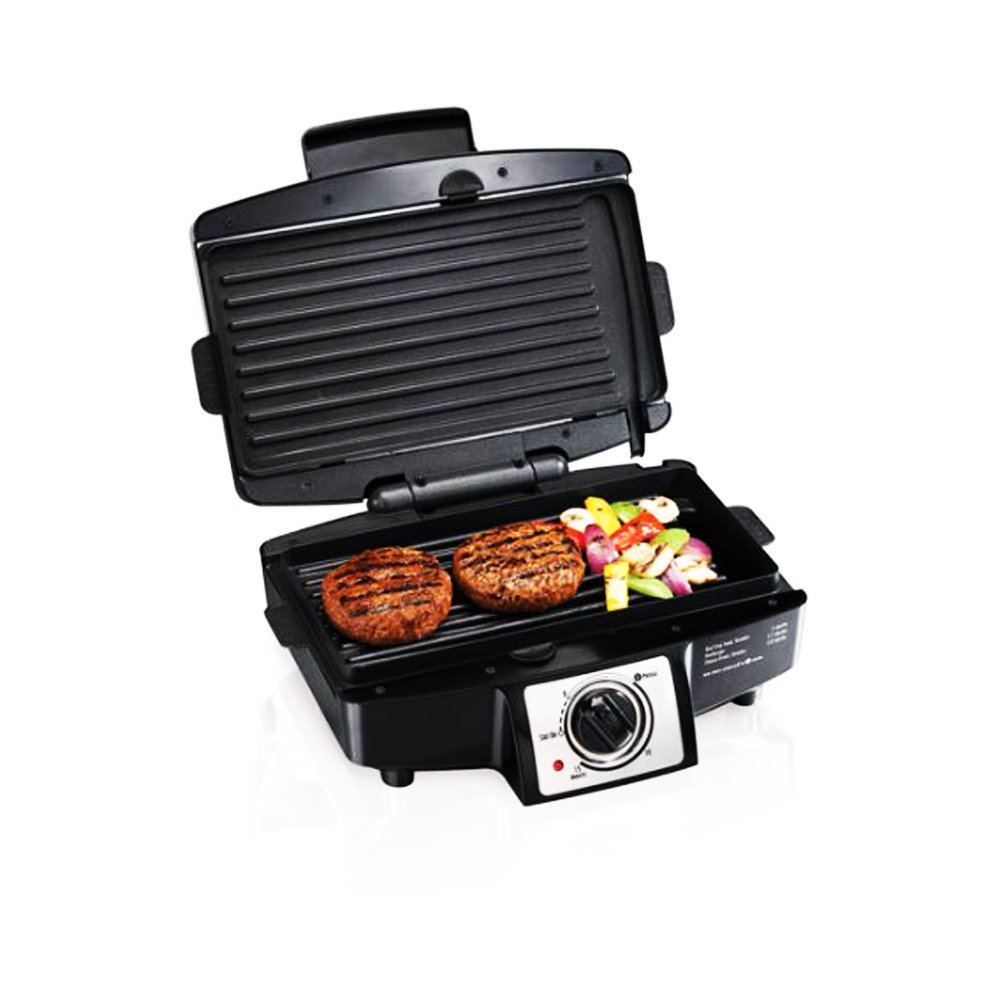 Hamilton Beach 4 Burger 110'' Grill with Removable Grids (Model# 25332)