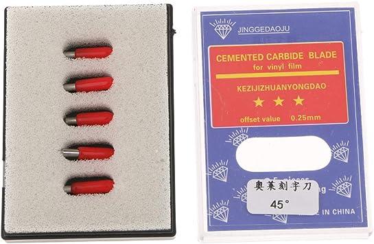 caja de 5 piezas loline letras ordenador cuchillas plotter corte SE intenta revisar EL tallada: Amazon.es: Bricolaje y herramientas
