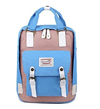 Classic Original Kanken Women Students Fashion Backpack Mochila Feminina Travel School Bags Bagpack Light Blue Pink
