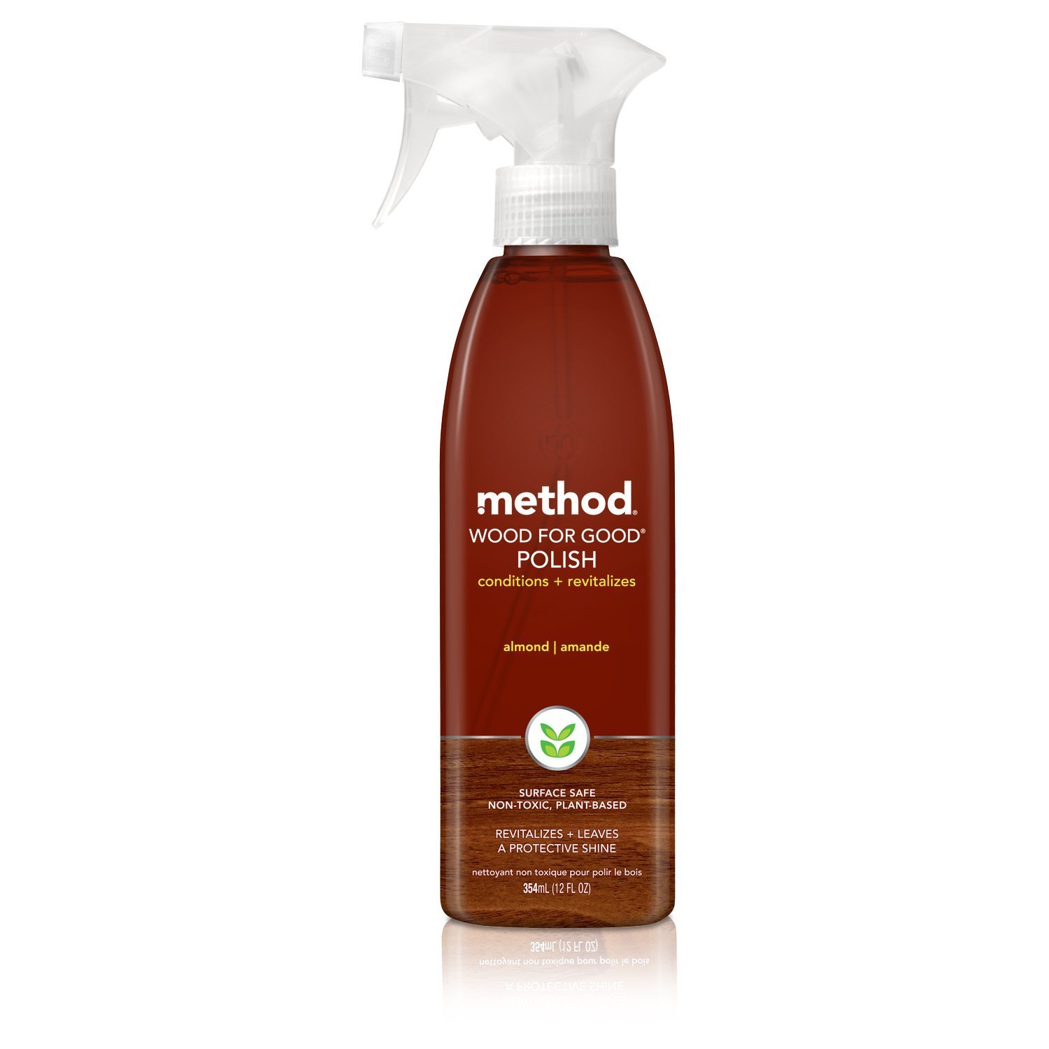 Method Wood for Good Polish Almond MegaPack 12 Ounce (Pack of 12)