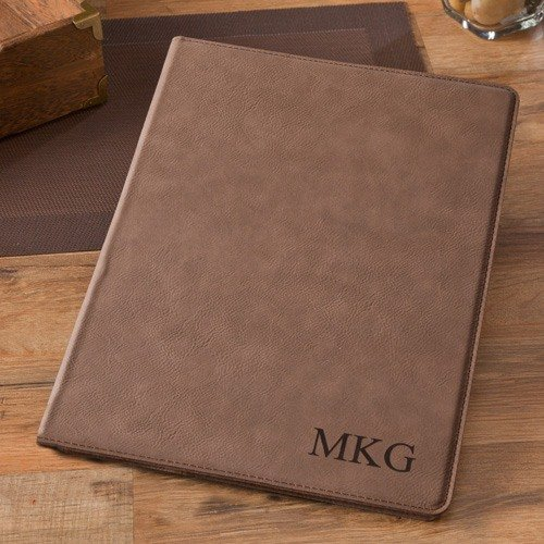 Professional Simulated Leather (Personalized Business Portfolio)