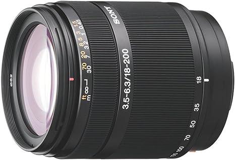 Sony SAL18200 - Objetivo para cámara Réflex DT 18-200 mm F/3.5-6.3 ...