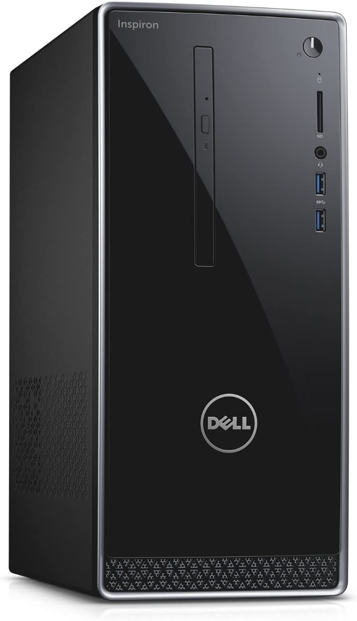 Newest Dell Inspiron 3650 High Performance Desktop ( (2017 Edition), Intel Core i3-6100 Processor 3.70 GHz, 8GB RAM, 1TB 7200RPM HDD, DVD +/- RW, WIFI, Bluetooth, HDMI, Windows 7 / 10 Professional