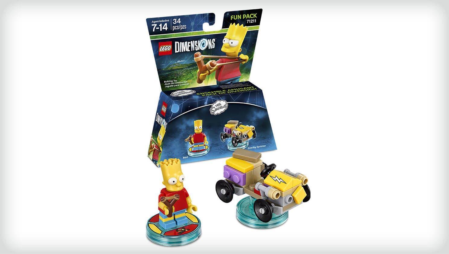 'lego Figurine Simpson LesPack Dimensions' Bart ZwOkiuPXT