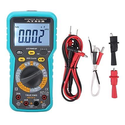 LCD Digital Voltmeter Ammeter Ohmmeter Multimeter Volt AC DC Tester Meter