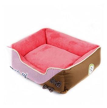 Caseta de perro perros puede unpick y de lavar Cálido cama Pet Waterloo £ ¨ adecuado