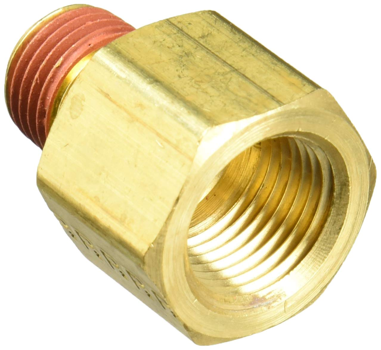 Parker Vs222p 6 4 Reducer Adapter Brass 38 In X 14 In Pipe