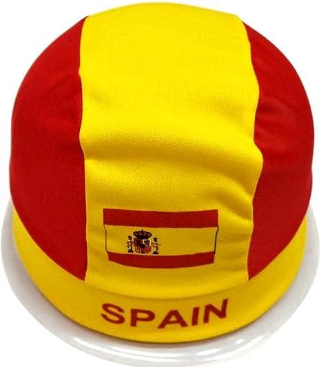 YT Copa del Mundo Sombrero Soporte de fútbol Turbante Screaming Prop Bar KTV Reabastecimiento Square Flag Bandera de España,España,un tamaño: Amazon.es: Deportes y aire libre