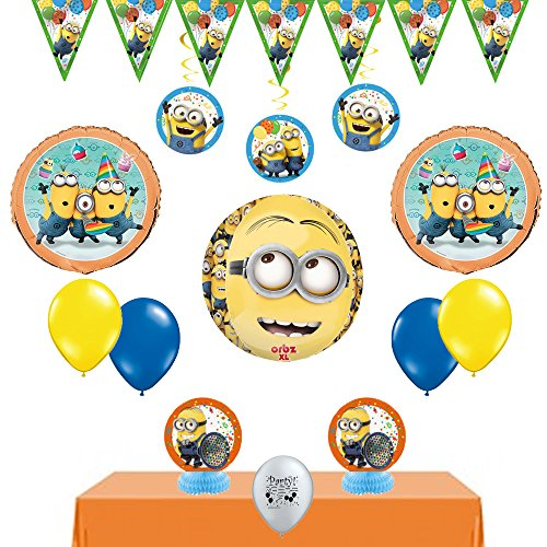 Despicable Me Minions Deluxe Room Decorating (Minion Invitations)