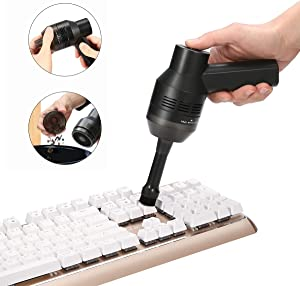 Keyboard Vacuums Cleaner, KeepTpeeK Portable Mini Electric Vacuum Cleaner USB Rechargeable Car Vacuum Cleaner TV Satellite Boxes,Kitchen Stove Cleaning for Dust,Bread Crumbs,Scraps Laptop,Computer,Dus