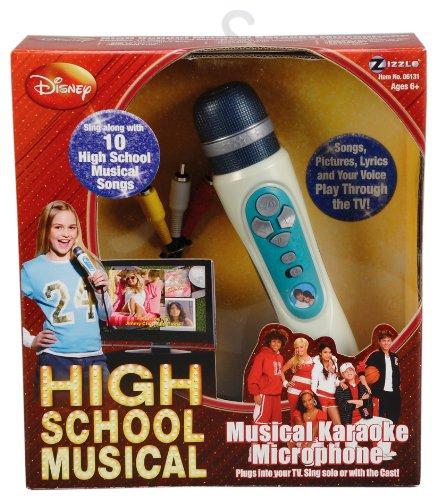 Giochi Preziosi 70061211 - High School Musical 2 Karaoke-Mikrofon für TV