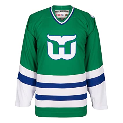 09c91fbc ... free shipping ccm hartford whalers green classic authentic throwback  team jersey mens ebe46 88c86