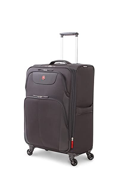 "SwissGear Meyrin 24.5"" Expandable Spinner Suitcase"