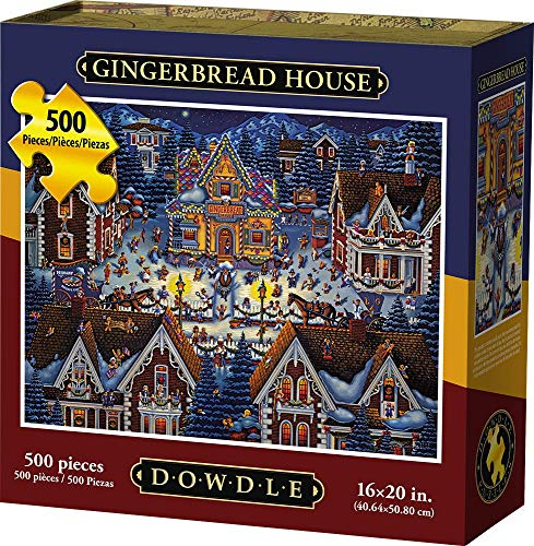 Dowdle Jigsaw Puzzle - Gingerbread House - 500 -