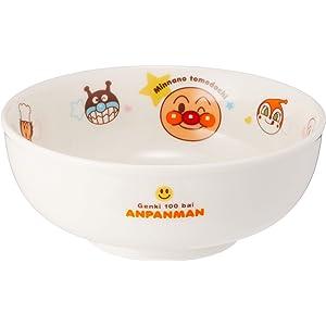 「 それいけ!アンパンマン 」 ラーメン丼 直径14.5cm 子供用 食器 白 074311