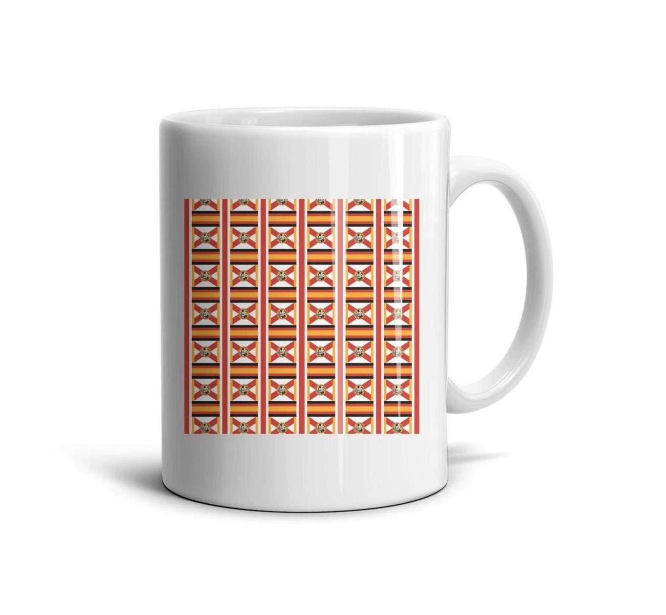 Shirtjkdsaa Funny Coffee Mug Florida State Flag Miami Fashion White Ceramic Souvenir Reusable Tea Mugs