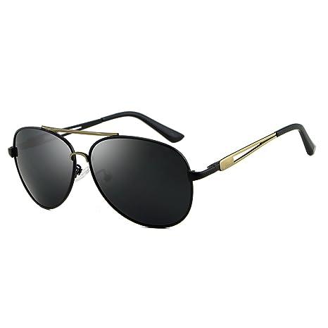 Baianf Gafas de Sol polarizadas para Hombre Gafas de Sol de aviación para Hombres Pantalones de