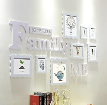 Amazon.com - ZYANZ Photo Frame Wall, Photo Gallery Frame, Wall ...