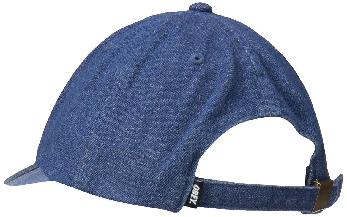 3dbbec07adb8c Amazon.com  Obey Men s Jumble Bar 6 Panel Hat