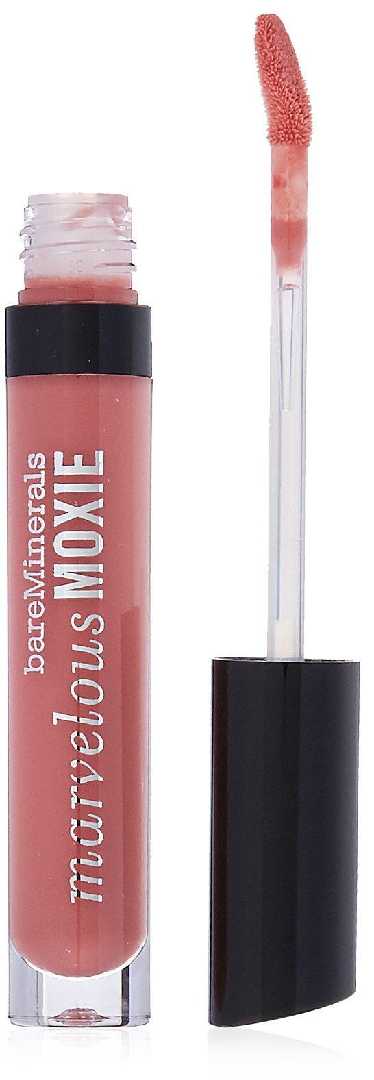 bareMinerals Marvelous Moxie Lip Gloss, Rebel, 0.15 Fluid Ounce