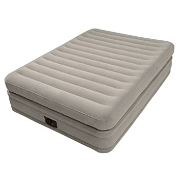 Intex Dura Beam Prime Comfort - colchón con tecnología Fiber Tech, Bomba Eléctrica incorporada, PVC: Amazon.es: Hogar