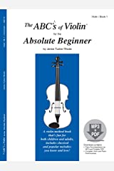 The ABCs of Violin for the Absolute Beginner, Book 1 (Book & MP3/PDF) Sheet music