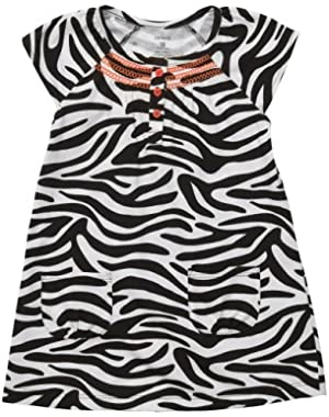 2-pc. Zebra Print Dress Set ZEBRA 18 Mo