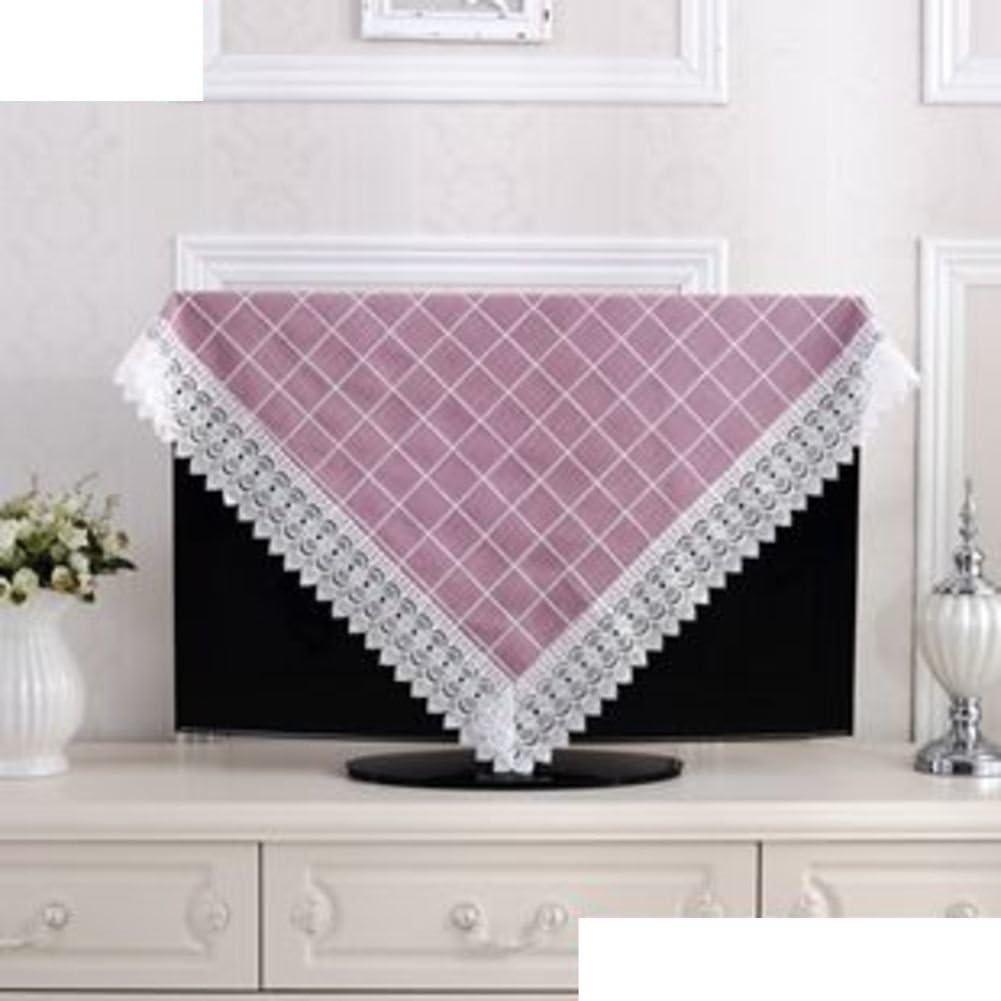 Clean cotton and linen fabrics/European garden Plaid tablecloth/ table cloth/ small circular table cloth/ table cloth-D diameter180cm(71inch)