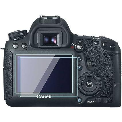 Canon EOS 6d LCD Protector de pantalla Foils 0,33 mm de espesor 9h dureza