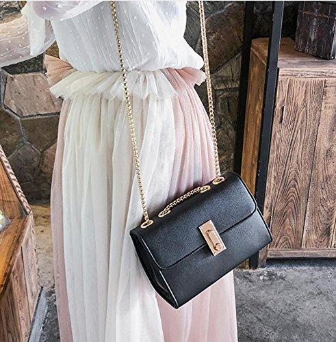 Femme À Petit Nouveau Sac Sac Loisirs Chaîne Mode À Sac Meaeo Bandoulière Sac Main Style q1XZTW8xw