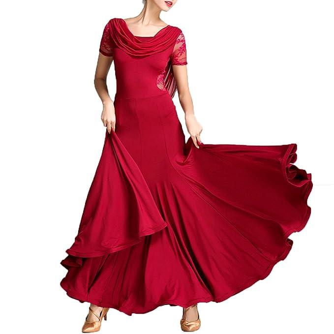 Amazon.com: nakokou las mujeres vestido mangas largas ...