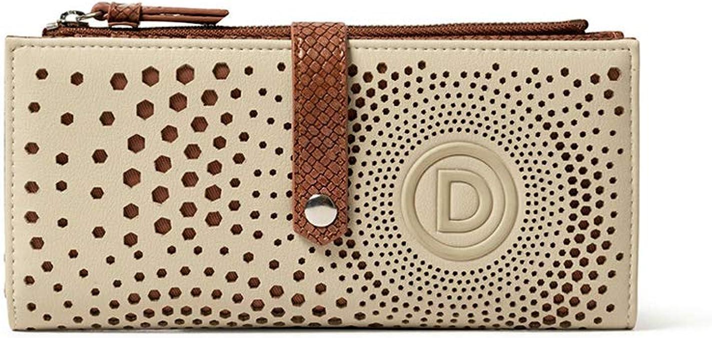 Portefeuille Femme Desigual Wallet 2TONES/_Maria Noir