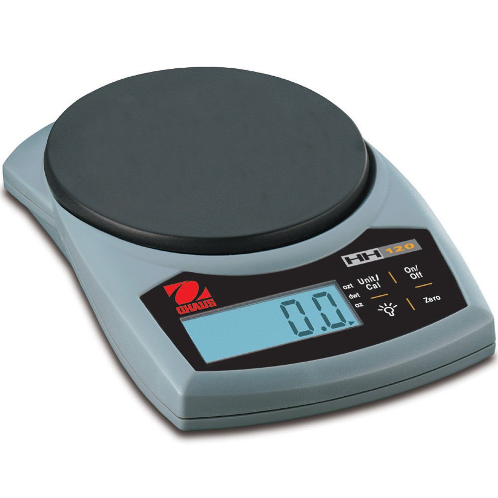 Ohaus ABS Hand-Held Portable Electronic Scale, 120g x 0.1g