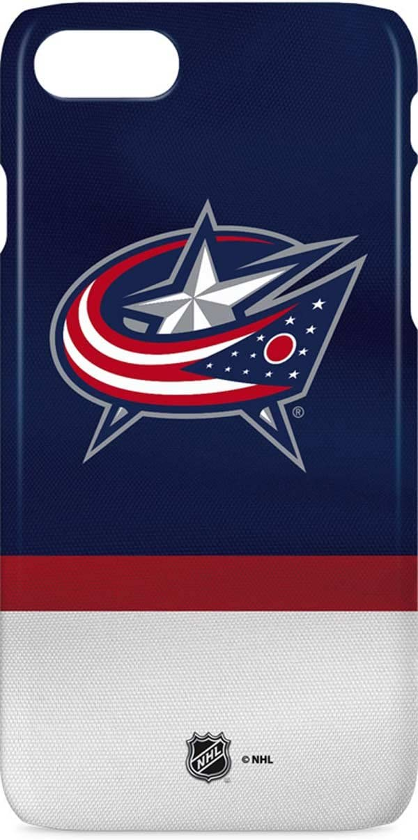 B01N1Q198N Skinit Lite Phone Case for iPhone 7 - Officially Licensed NHL Columbus Blue Jackets Alternate Jersey Design 61vEobHLiJL