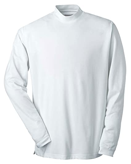 bdb8fe3f Men's Long-Sleeve Performance Wicking Mock at Amazon Men's Clothing store:  Shirts